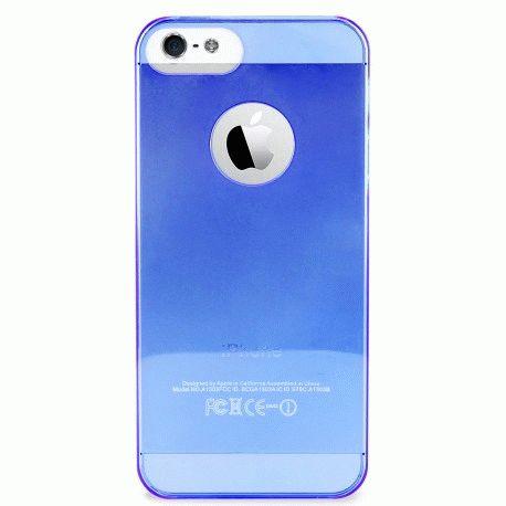Puro Crystal Cover накладка для Apple iPhone 5 Blue