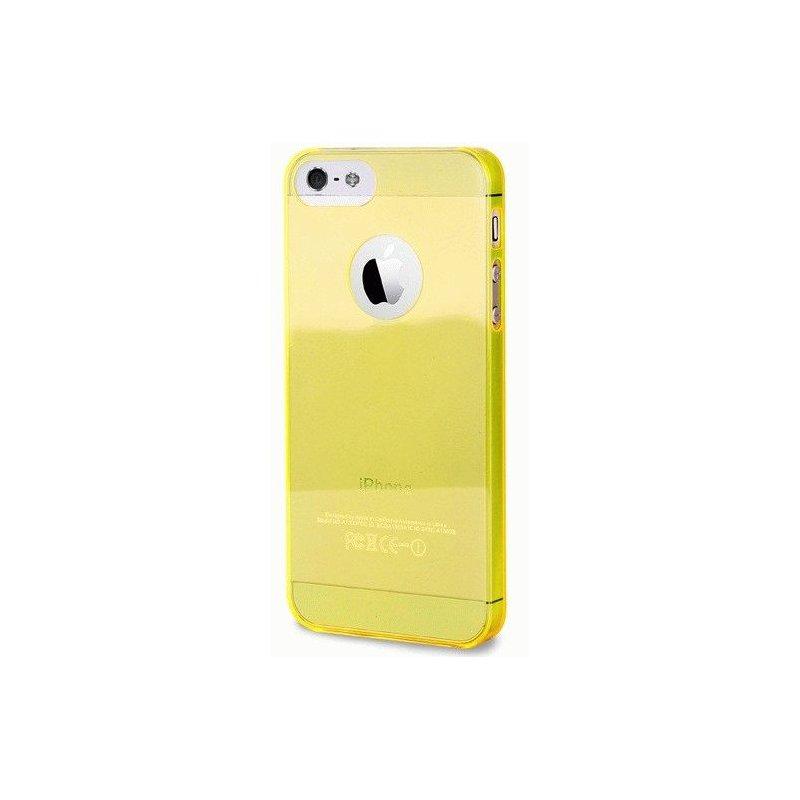 Puro Crystal Cover накладка для Apple iPhone 5 Yellow