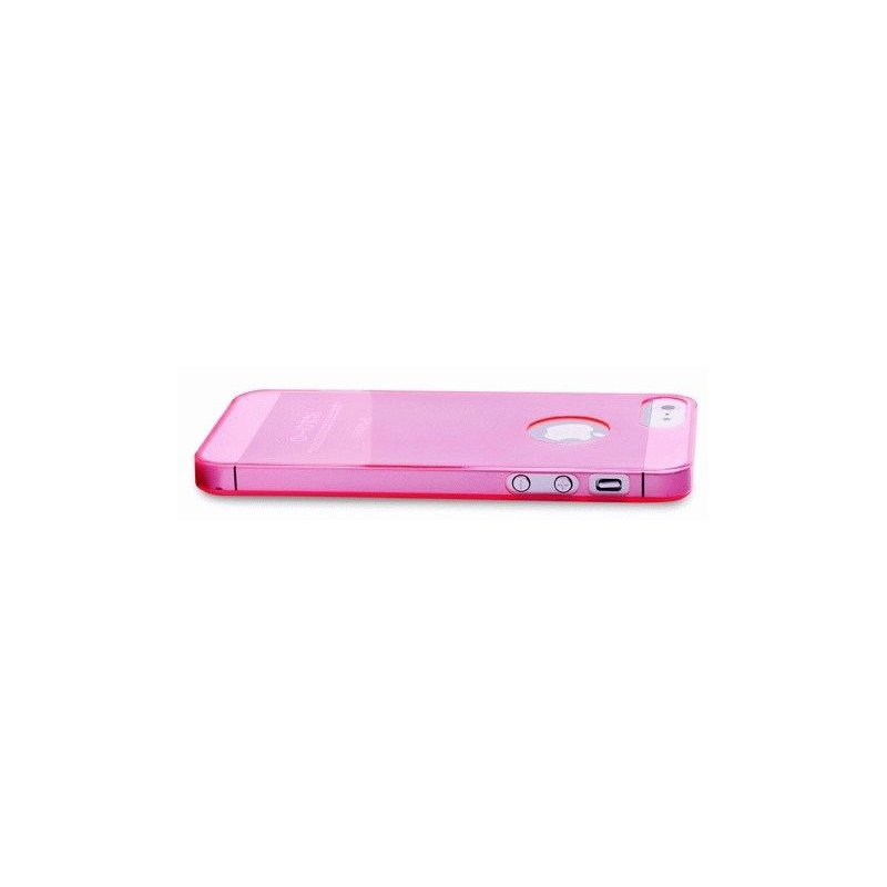 Puro Crystal Cover накладка для Apple iPhone 5 Pink