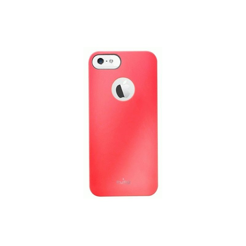 Puro Soft Cover накладка для Apple iPhone 5 Red
