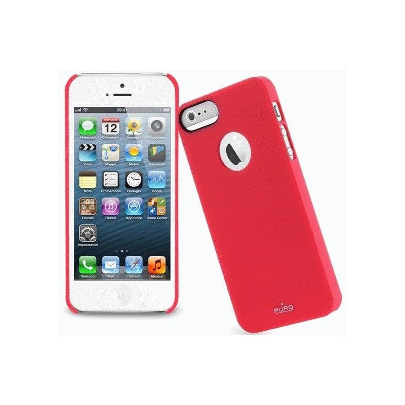 Puro Soft Cover накладка для Apple iPhone 5 Red