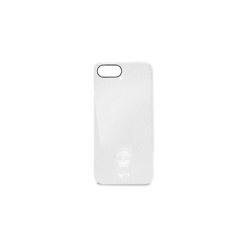 Puro Skull Cover накладка для Apple iPhone 5 White