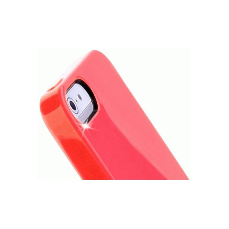 Puro Crystal Cover накладка для Apple iPhone 5 Red
