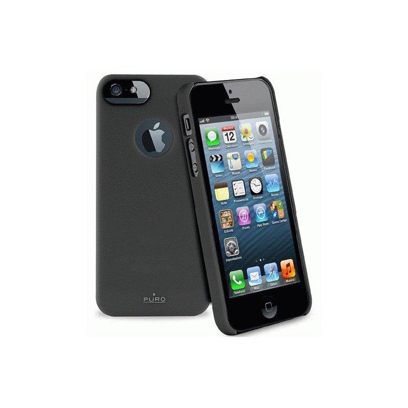 Puro Soft Cover накладка для Apple iPhone 5 Black