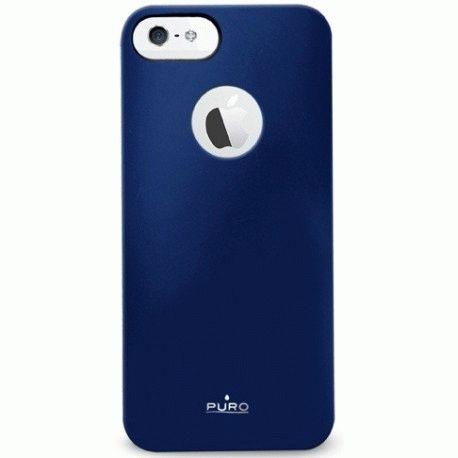 Puro Soft Cover накладка для Apple iPhone 5 Blue