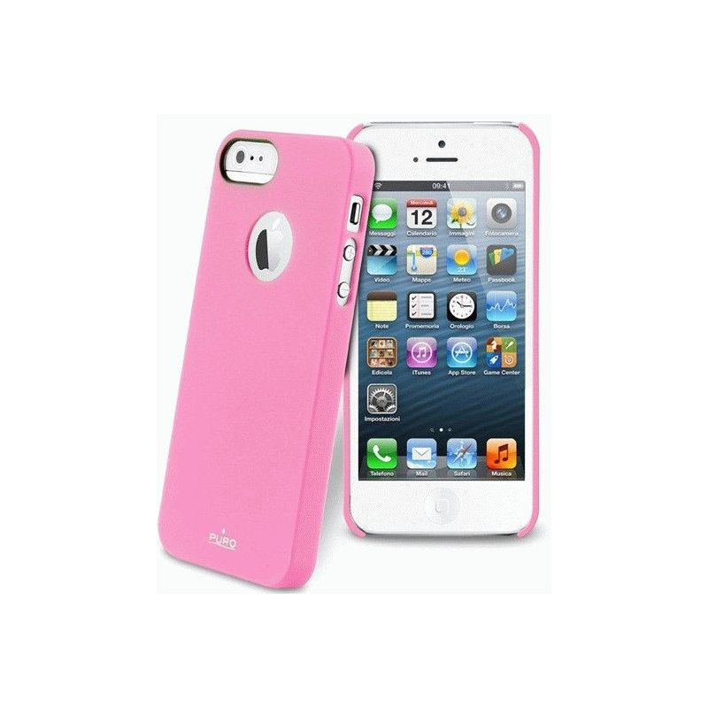 Puro Soft Cover накладка для Apple iPhone 5 Pink