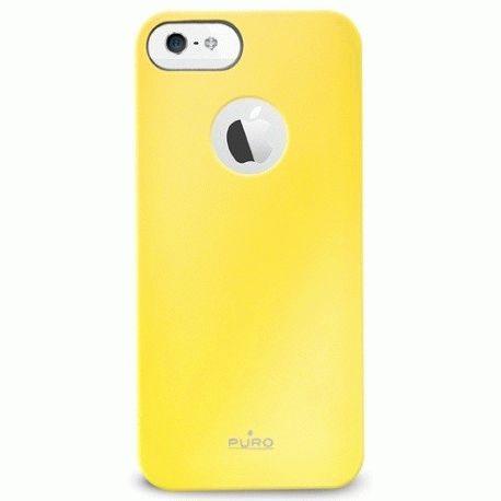 Puro Soft Cover накладка для Apple iPhone 5 Yellow
