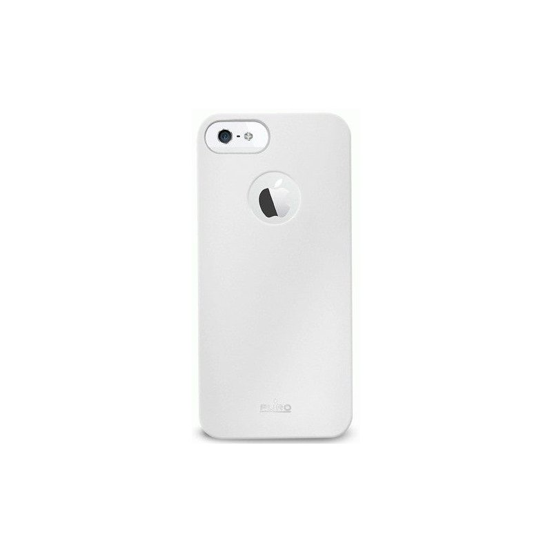 Puro Soft Cover накладка для Apple iPhone 5 White