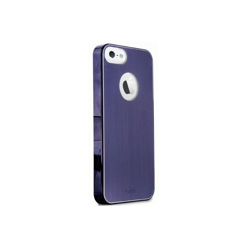 Puro Metal Cover накладка для Apple iPhone 5 Blue
