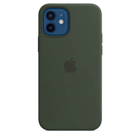 Чехол Apple iPhone 12/12 Pro Silicone Case with MagSafe Cyprus Green (MHL33)