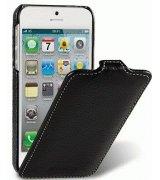 Кожаный чехол Melkco (JT) для iPhone 5 Black