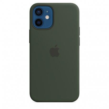 Чехол Apple iPhone 12 Mini Silicone Case with MagSafe Cyprus Green (MHKR3)