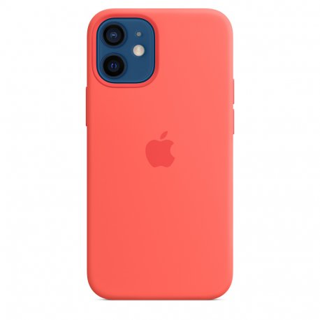 Чехол Apple iPhone 12 Mini Silicone Case with MagSafe Pink Citrus (MHKP3)