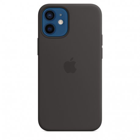 Чехол Apple iPhone 12 Mini Silicone Case with MagSafe Black (MHKX3)