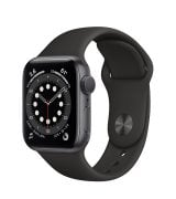 Apple Watch Series 6 40mm (GPS) Space Gray Aluminum Case with Black Sport Band (MG133)