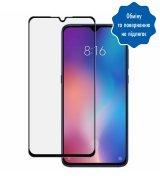 """Защитное стекло 5,97"""" 5D для Xiaomi Mi 9 SE Black"""