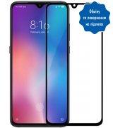 """Защитное стекло 6,39"""" 5D для Xiaomi Mi 9 Black"""