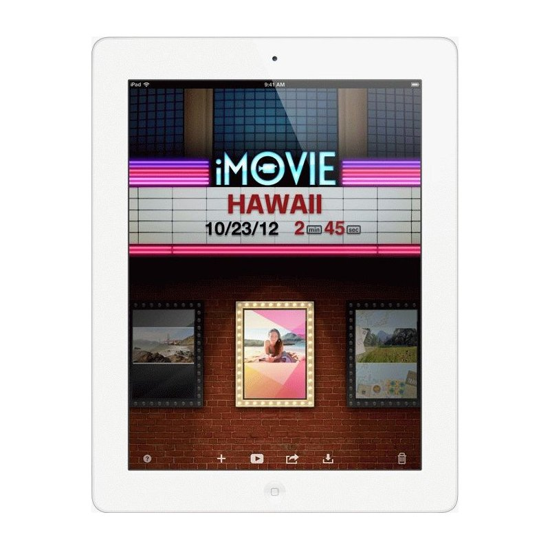 Apple iPad 4 Wi-Fi 32GB White