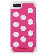 Yoobao накладка Silicon 3 in 1 Case для iPhone 5 White - Pink