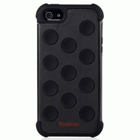 Yoobao накладка Silicon 3 in 1 Case для iPhone 5 Black