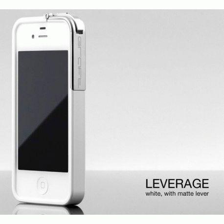 Бампер Graft Concepts Leverage Bumper для iPhone 4/4s White