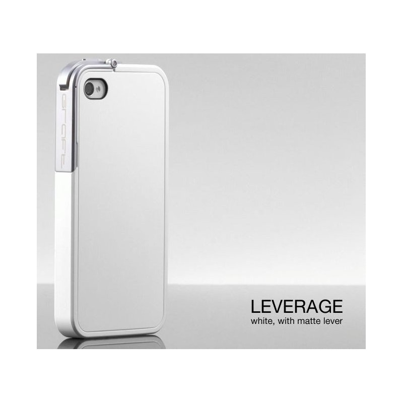 Бампер Graft Concepts Leverage Bumper для iPhone 4/4s White