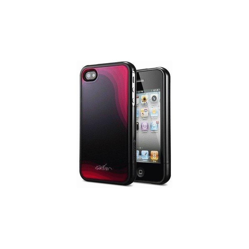 SGP Case Linear Karim Rashid Blobism Soul Black чехол для iPhone 4/4s
