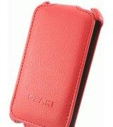 Кожаный чехол OZAKI для Samsung Galaxy Ace Duos S6802 Red