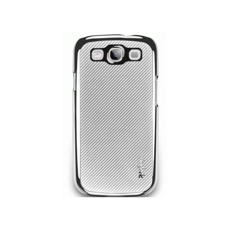 NavJack Corium series для Samsung Galaxy  S3 i9300 Silver