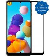 Защитное стекло Full Screen GlassCove для Samsung A21/A21S