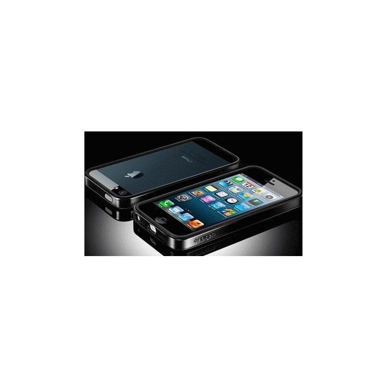 Бампер для iPhone 5 SGP Case Neo Hybrid EX Vivid Reventon Black (SGP09520)