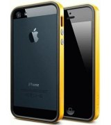 Бампер для iPhone 5 SGP Case Neo Hybrid EX Vivid Reventon Yellow (SGP09518)