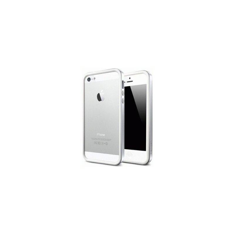 Бампер для iPhone 5 SGP Case Neo Hybrid EX Infinity White (SGP09517)