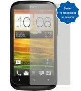 Защитная плёнка для HTC Desire X T328e глянцевая