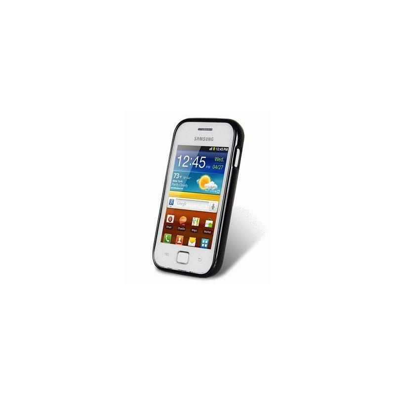 TPU накладка Melkco Poly Jacket для Samsung s6802 Black