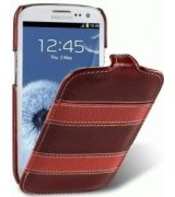 Кожаный чехол Melkco (JT) Unique Edition для Samsung i9300 Galaxy S3 Red