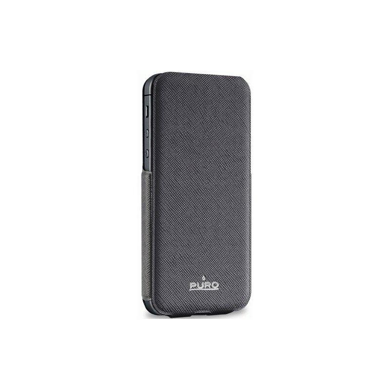 Чехол Puro Flipper Ultra Slim Case для Apple iPhone 5 Black