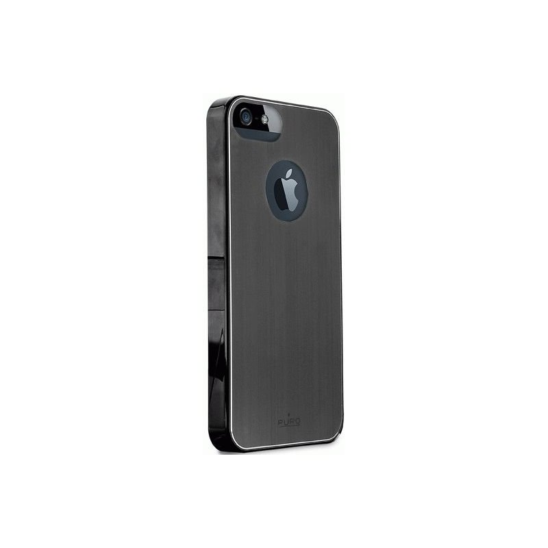 Puro Metal Cover накладка для Apple iPhone 5 Black
