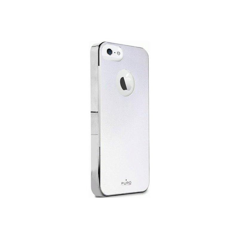 Puro Metal Cover накладка для Apple iPhone 5 White