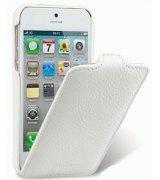 Кожаный чехол Melkco (JT) для IPhone 5 White