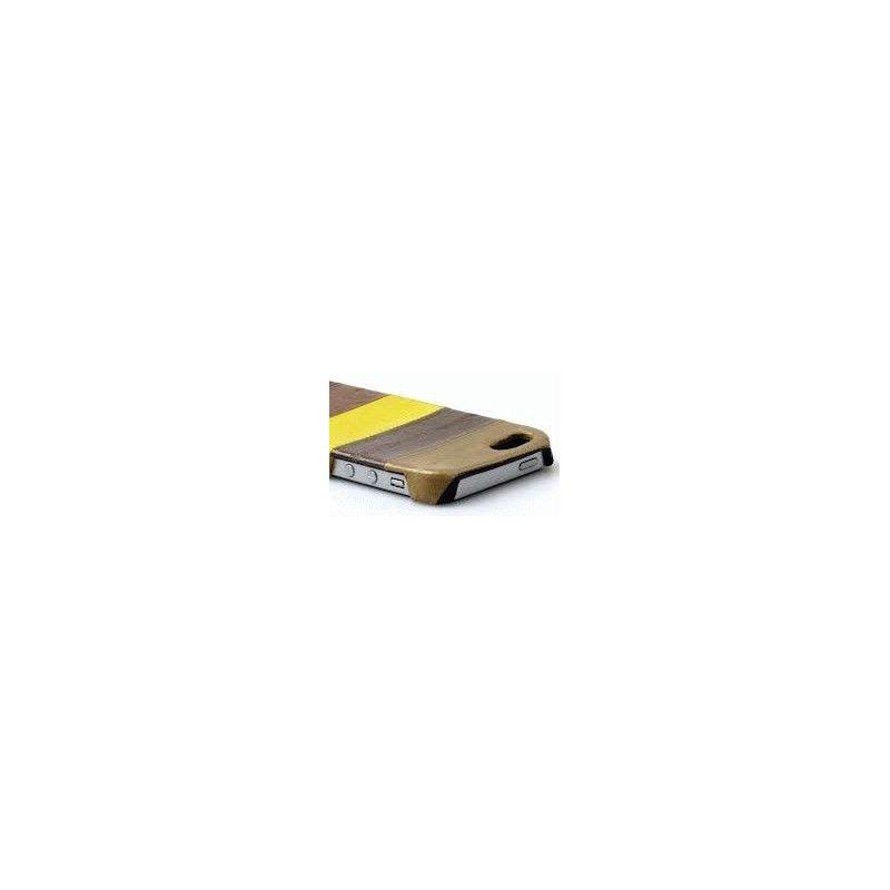 Кожаная накладка Zenus Eel Leather Bar для iPhone 5 Multi Brown