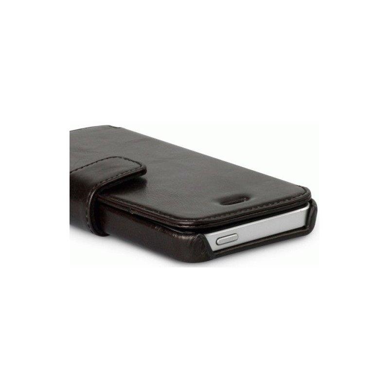 Кожаный чехол Zenus Estime Lettering Diary для iphone 5 Black Choco
