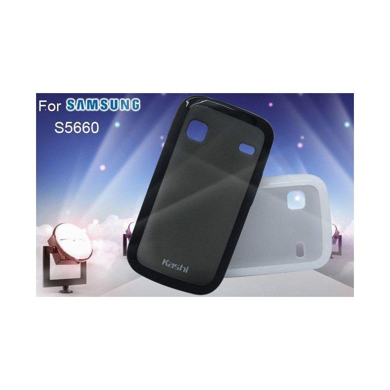 Kashi пластиковая накладка для Samsung S5660 Galaxy Gio Black