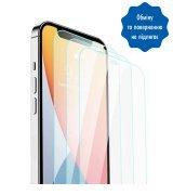 Защитное стекло Ilera Infinity Glass Super Slim 0.18mm без рамки для iPhone 12/12 Pro Max