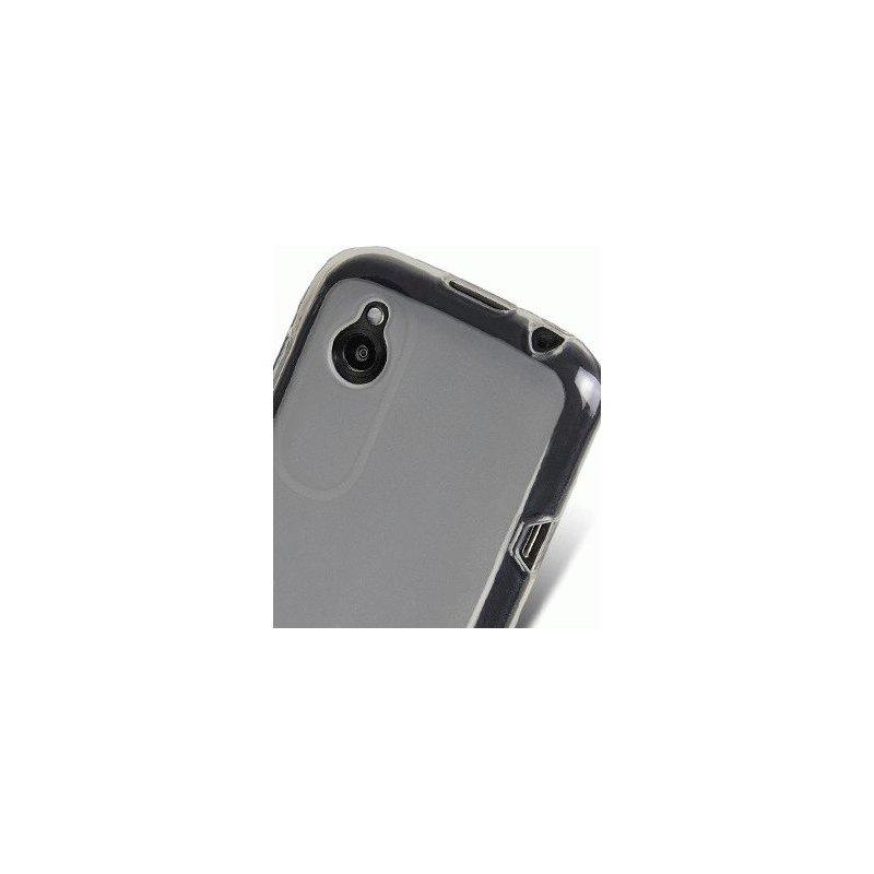TPU накладка Melkco Poly Jacket для HTC T328w Desire V White