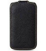 Кожаный чехол Melkco Flip (JT) для Samsung Galaxy S Duos S7562 Black
