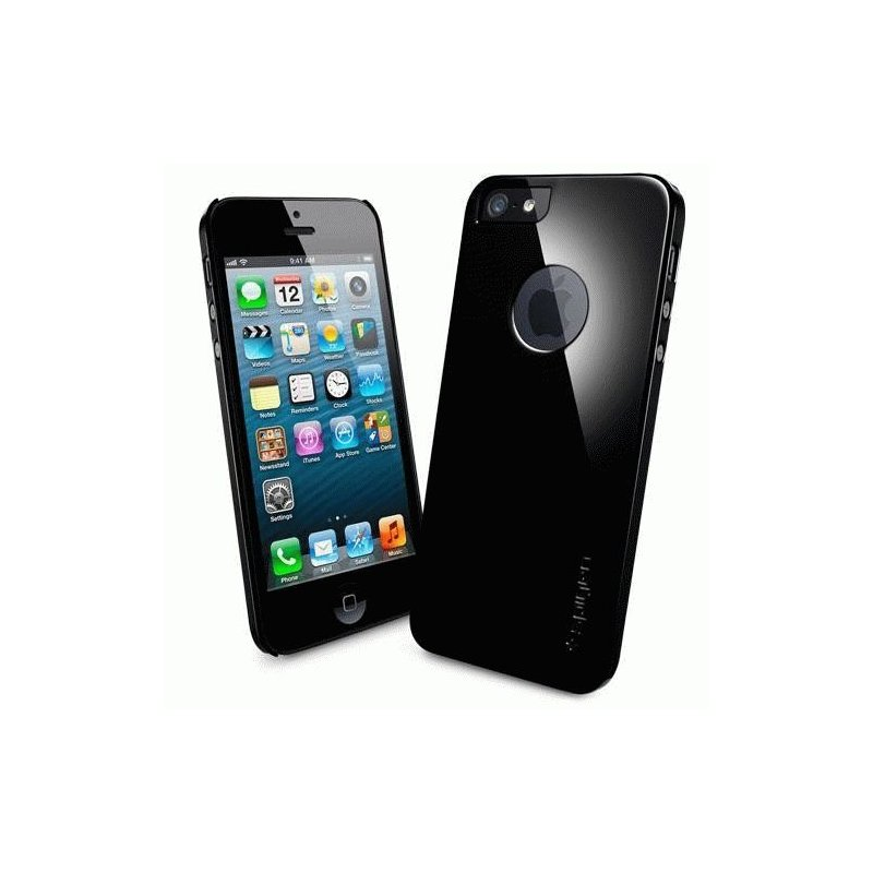 SGP iPhone 5 Case Ultra Thin A Soul Black