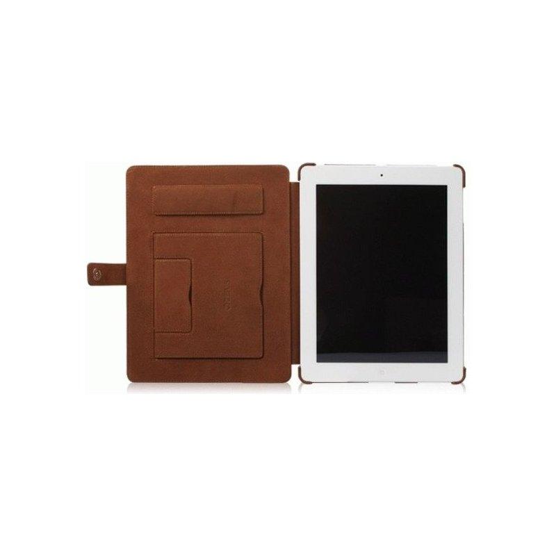 Кожаный чехол Zenus Masstige Lettering Diary Series для Apple iPad 3/iPad 4 Brown