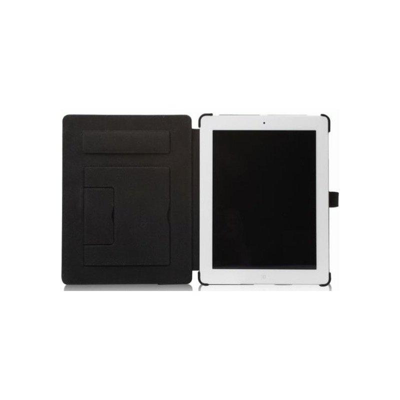 Кожаный чехол Zenus Prestige Classic Business Portfolio Series для iPad 3/iPad 4 Black