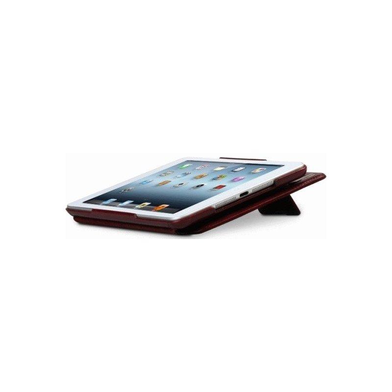 Кожаный чехол Zenus Masstige Neo Classic Diary Series для Apple Ipad mini Wine Red